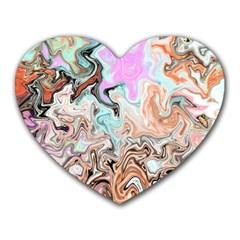 Distortedbeauty Heart Mousepads by digitaldivadesigns
