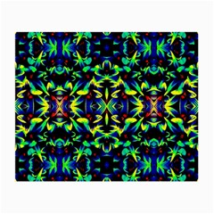 Cool Green Blue Yellow Design Small Glasses Cloth by Costasonlineshop