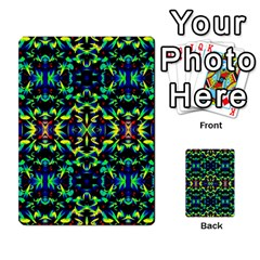 Cool Green Blue Yellow Design Multi Purpose Cards (rectangle)  by Costasonlineshop