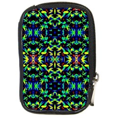 Cool Green Blue Yellow Design Compact Camera Cases