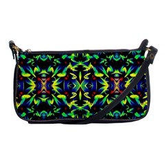 Cool Green Blue Yellow Design Shoulder Clutch Bags