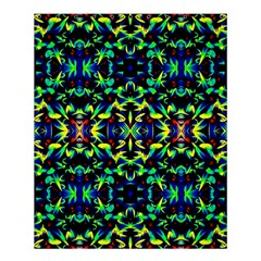 Cool Green Blue Yellow Design Shower Curtain 60  X 72  (medium)