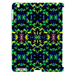 Cool Green Blue Yellow Design Apple Ipad 3/4 Hardshell Case (compatible With Smart Cover) by Costasonlineshop