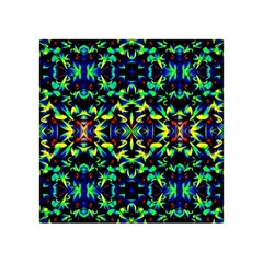 Cool Green Blue Yellow Design Acrylic Tangram Puzzle (4  X 4 ) by Costasonlineshop