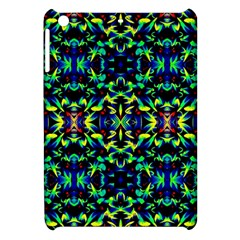 Cool Green Blue Yellow Design Apple Ipad Mini Hardshell Case by Costasonlineshop