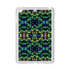 Cool Green Blue Yellow Design Ipad Mini 2 Enamel Coated Cases by Costasonlineshop