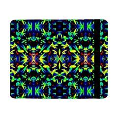 Cool Green Blue Yellow Design Samsung Galaxy Tab Pro 8 4  Flip Case by Costasonlineshop