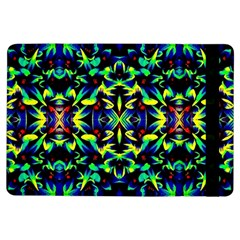 Cool Green Blue Yellow Design iPad Air Flip by Costasonlineshop