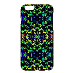 Cool Green Blue Yellow Design Apple Iphone 6 Plus/6s Plus Hardshell Case