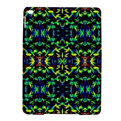 Cool Green Blue Yellow Design Ipad Air 2 Hardshell Cases by Costasonlineshop