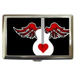 Flying Heart Guitar Cigarette Money Case