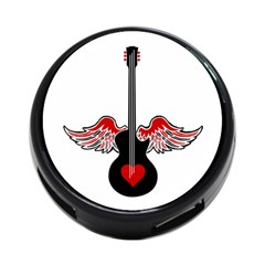 Flying Heart Guitar 4 Port Usb Hub (two Sides) by waywardmuse