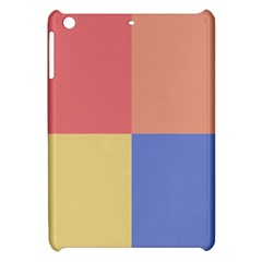 4 Squares			apple Ipad Mini Hardshell Case by LalyLauraFLM