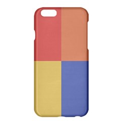 4 Squares			apple Iphone 6 Plus/6s Plus Hardshell Case by LalyLauraFLM