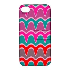 Waves Pattern			apple Iphone 4/4s Hardshell Case With Stand by LalyLauraFLM