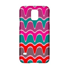Waves Patternsamsung Galaxy S5 Hardshell Case by LalyLauraFLM
