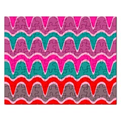 Waves Pattern			jigsaw Puzzle (rectangular) by LalyLauraFLM