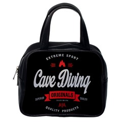 Cave Diving Extreme Sport Classic Handbags (one Side) by ExtremeSport