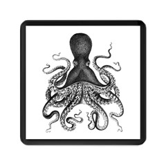 Vintage Octopus Memory Card Reader (square)  by waywardmuse