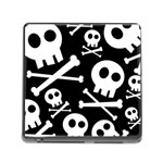Cute Skulls Memory Card Reader (Square)