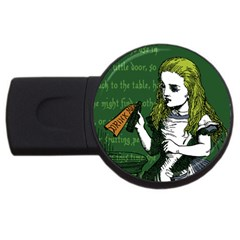 Alice In Wonderland Usb Flash Drive Round (4 Gb)