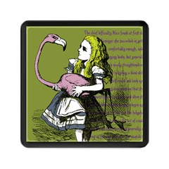Flamingo Croquet Memory Card Reader (square)