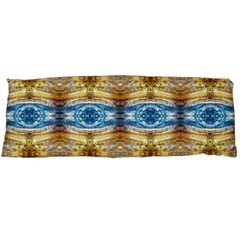 Gold And Blue Elegant Pattern Body Pillow Cases Dakimakura (two Sides)  by Costasonlineshop