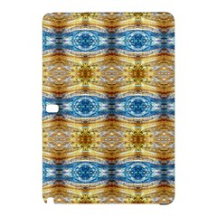 Gold And Blue Elegant Pattern Samsung Galaxy Tab Pro 12 2 Hardshell Case