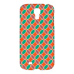 Stars And Flowers Patternsamsung Galaxy S4 I9500/i9505 Hardshell Case by LalyLauraFLM