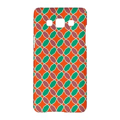 Stars And Flowers Patternsamsung Galaxy A5 Hardshell Case by LalyLauraFLM