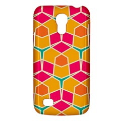 Shapes In Retro Colors Patternsamsung Galaxy S4 Mini (gt I9190) Hardshell Case