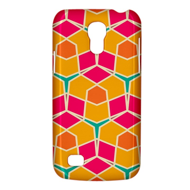 Shapes in retro colors patternSamsung Galaxy S4 Mini (GT-I9190) Hardshell Case