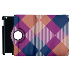 Argyle Variation			apple Ipad 2 Flip 360 Case by LalyLauraFLM