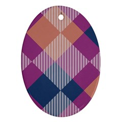 Argyle Variation			ornament (oval) by LalyLauraFLM