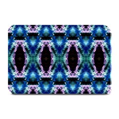 Blue, Light Blue, Metallic Diamond Pattern Plate Mats by Costasonlineshop