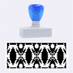 Blue, Light Blue, Metallic Diamond Pattern Rubber Stamps (large) by Costasonlineshop