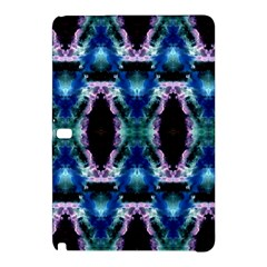 Blue, Light Blue, Metallic Diamond Pattern Samsung Galaxy Tab Pro 10 1 Hardshell Case