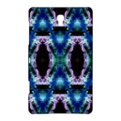 Blue, Light Blue, Metallic Diamond Pattern Samsung Galaxy Tab S (8 4 ) Hardshell Case  by Costasonlineshop