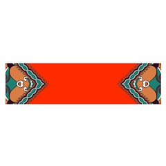 tribal12 Satin Scarf (Oblong) by walala