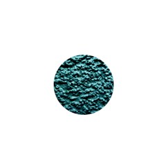 Blue Green  Wall Background 1  Mini Buttons by Costasonlineshop