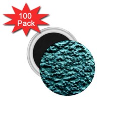 Blue Green  Wall Background 1 75  Magnets (100 Pack)