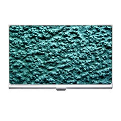 Blue Green  Wall Background Business Card Holders