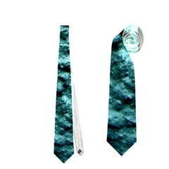 Blue Green  Wall Background Neckties (One Side)  by Costasonlineshop