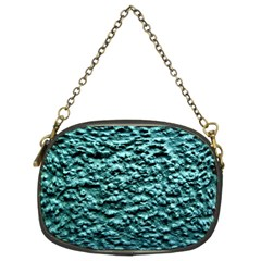 Blue Green  Wall Background Chain Purses (two Sides)