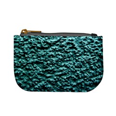 Blue Green  Wall Background Mini Coin Purses by Costasonlineshop