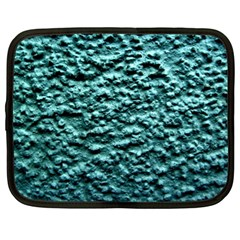 Blue Green  Wall Background Netbook Case (xl)