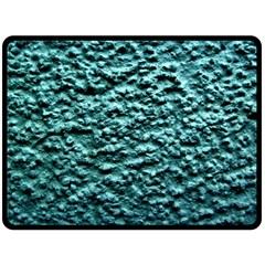 Blue Green  Wall Background Fleece Blanket (large)  by Costasonlineshop
