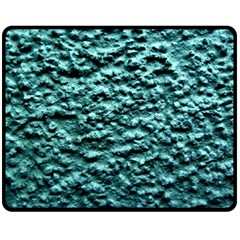 Blue Green  Wall Background Fleece Blanket (medium)  by Costasonlineshop