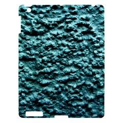 Blue Green  Wall Background Apple Ipad 3/4 Hardshell Case