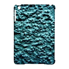 Blue Green  Wall Background Apple iPad Mini Hardshell Case (Compatible with Smart Cover) by Costasonlineshop